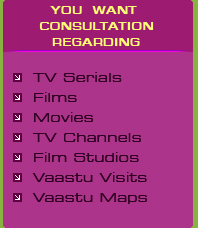 Numerologist in Delhi, Films, Movies, Tv Channels, Film Studios, Vastu Visits, Vastu Maps